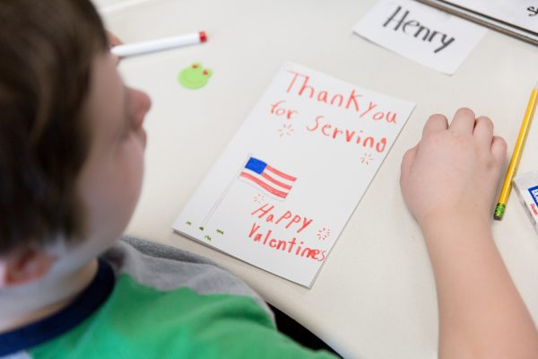 Jackson, Perkins Create Valentine's Day Cards for Vets